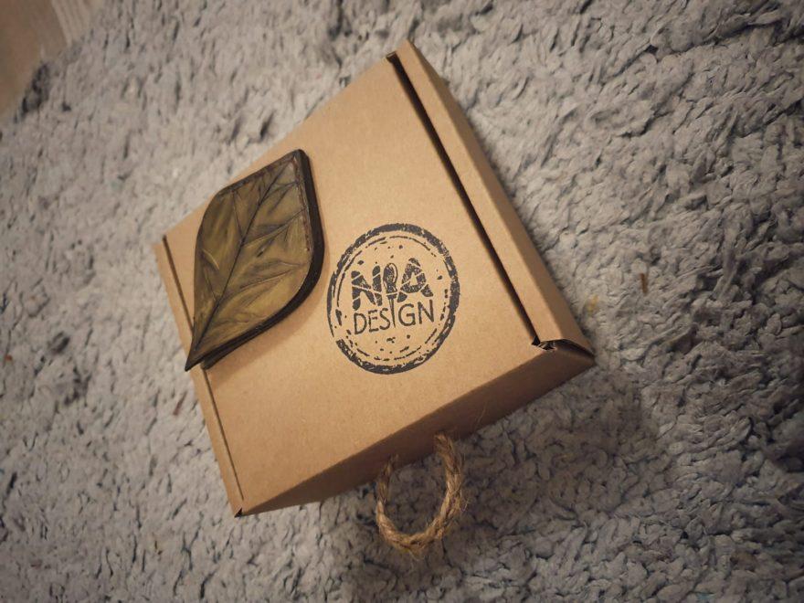 Záložka do knihy ve tvaru listu