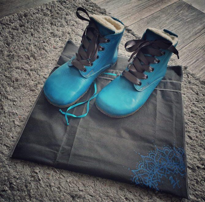 Zimní boty s přírodní merino vlnou