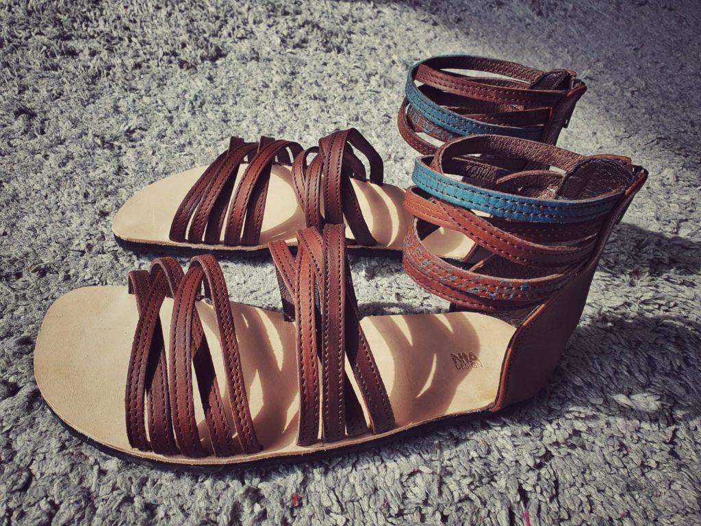 Dámské páskové sandály