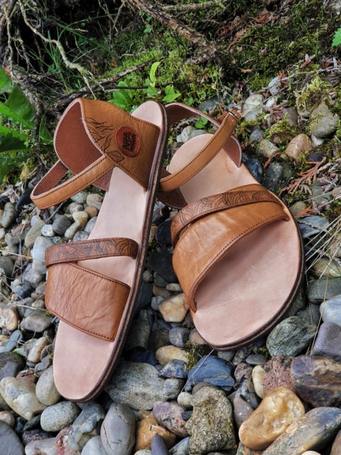 Jemné elegantní sandále